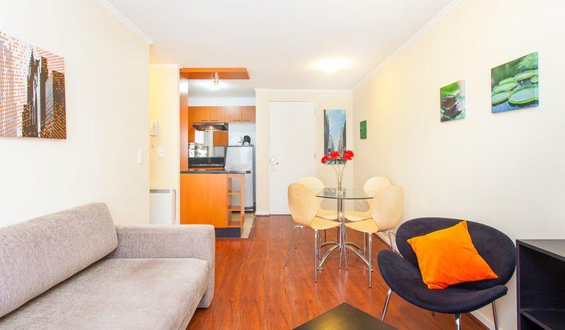 Luxury e Bedroom Apartment near Palacio de la Moneda